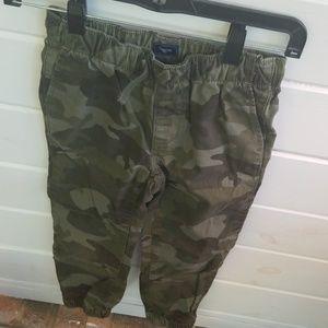 Boys Camouflage pants